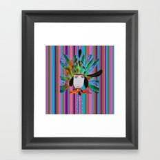 My Grandmother | Native American |Kids Painting |Pop Art Framed Art Print