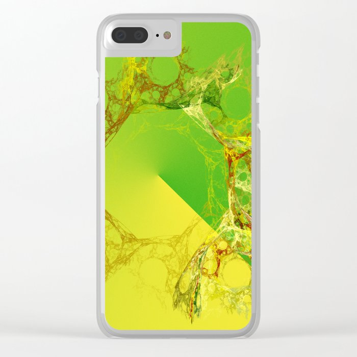 organic creations Clear iPhone Case