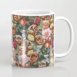 Botanical and Pugs Coffee Mug