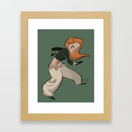 What's the sitch? Framed Art Print