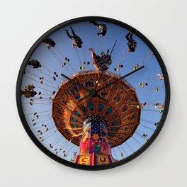 manège couleur Wall Clock