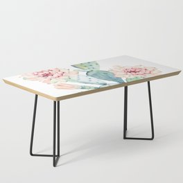 The Prettiest Cactus Coffee Table
