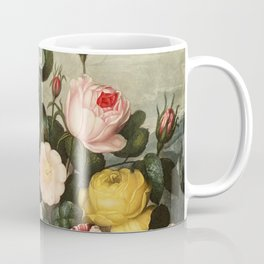 Pink  Red Floral : New Illustration Of The Sexual System Coffee Mug