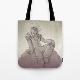 Space Gal Tote Bag