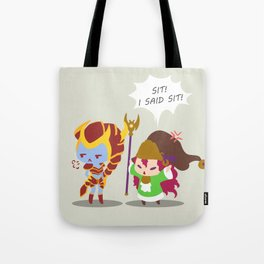 Shyvana too hard to train Tote Bag