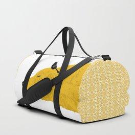 Golden Retriever Dog sleeping Duffle Bag