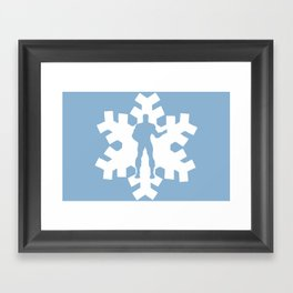 Iceman Framed Art Print