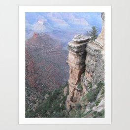 The Canyon 2 Art Print