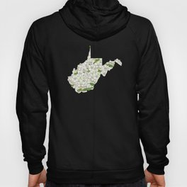 West Virginia in Flowers Hoody