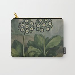 Botanical Auriculas Carry-All Pouch
