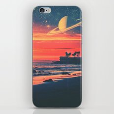 A Fax From the Beach iPhone Skin