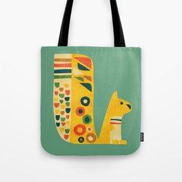 Century Squirrel Tote Bag