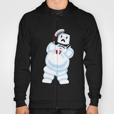 Scared Mr. Stay Puft Hoody