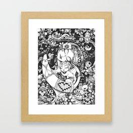 Mother and Child Framed Art Print