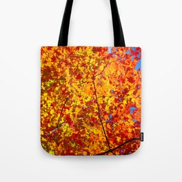 Blazing Fall Canopy Tote Bag