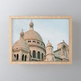 sacre coeur Framed Mini Art Print