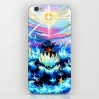 gurren lagann iPhone & iPod Skins featuring Gurren Lagann - Burning Soul by Cielo+