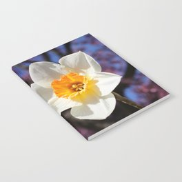 Daffodil with Cherry Blossoms Notebook