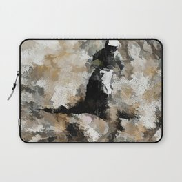 Down and Dirty! - Motocross Racer Laptop Sleeve