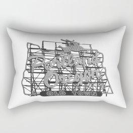 Portland Oregon Rectangular Pillow