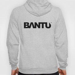 Bantu Logo - Black Text Hoody