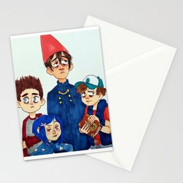 "The Para""normal"" club Stationery Cards"
