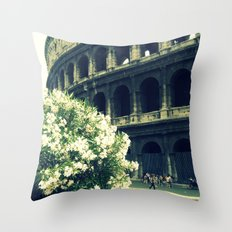 Summer in the Center Throw Pillow