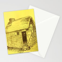 Gold New World Stationery Cards