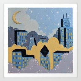 Dreamland Called Chicago Art Print