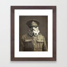 Sgt. Stormley  Framed Art Print