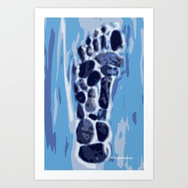 little Foot Art Print