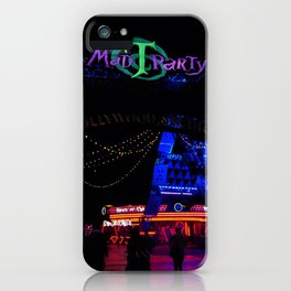 Mad Tea ParTy 4 iPhone Case