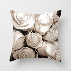 Just Roses Throw Pillow