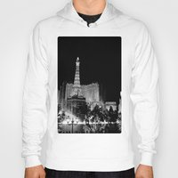 las vegas Hoodies featuring Las Vegas by Sara Sue Ess
