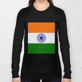 india flag Long Sleeve T-shirt