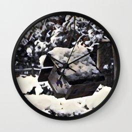 Snow Bird Resort Wall Clock