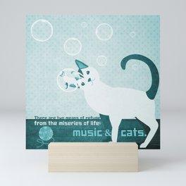 Soap bubbles 9 Mini Art Print