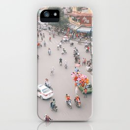 Traffic in Hanoi iPhone Case