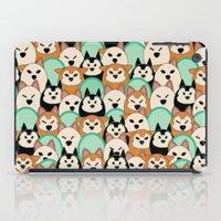 shiba inu iPad Cases featuring Shiba Inu by Modify New York