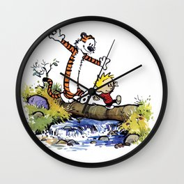 calvin and hobbes 03 [TW] Wall Clock