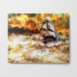 Digital Painting 05 Metal Print