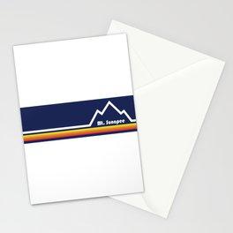 Mount Sunapee, New Hampshire Stationery Cards
