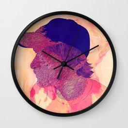 Coral kid Wall Clock