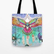 Flying Eagle Tote Bag