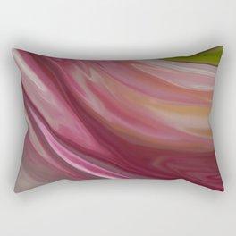 Linnea Flower Abstract Rectangular Pillow