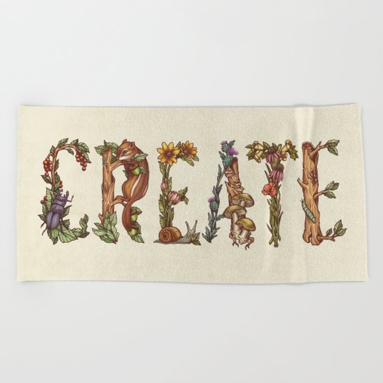 Create Beach Towel
