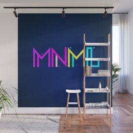 Minimal Type (Colorful Edm) Typography - Design Wall Mural