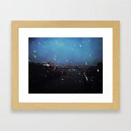 winter in oporto Framed Art Print