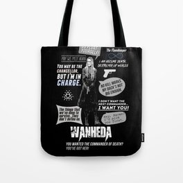 Clarke Griffin - Quotes The 100 Tote Bag