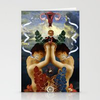 venus Stationery Cards featuring Venus by DIVIDUS